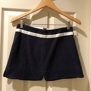 Juicy couture navy skirt size 0